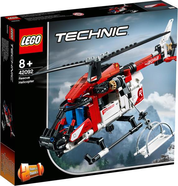 LEGO Technic Rettungshubschrauber (42092)