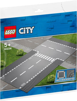 LEGO City Gerade und T-Kreuzung (60236)