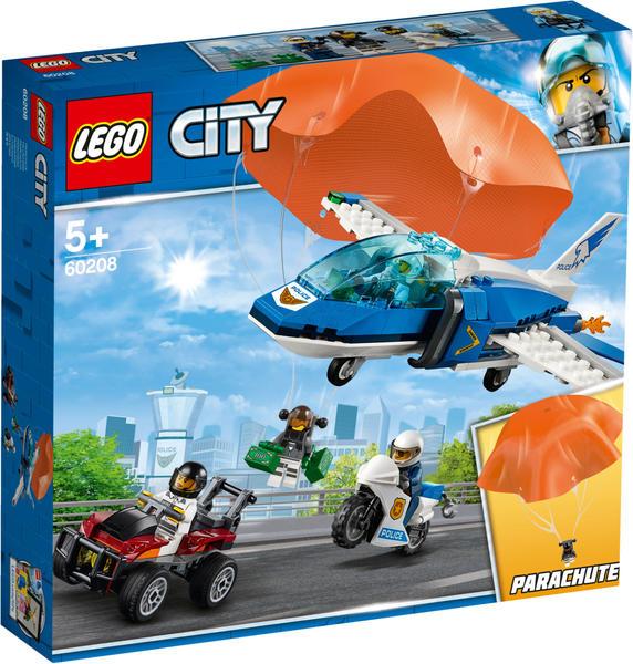LEGO City - Polizei Flucht mit dem Fallschirm (60208)