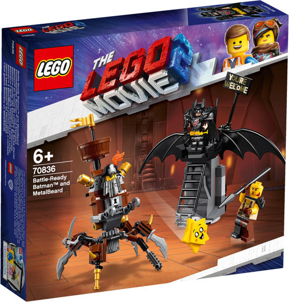 LEGO The Lego Movie 2 - Einsatzbereiter Batman und EisenBart (70836)