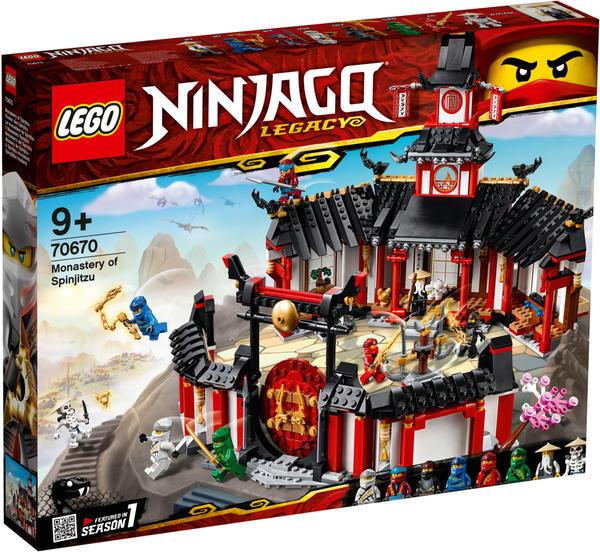 LEGO Ninjago - Kloster des Spinjitzu (70670)