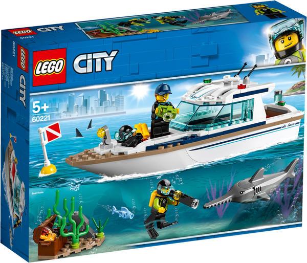 LEGO City - Tauchyacht (60221)