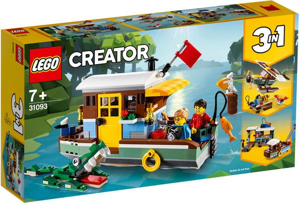 LEGO Creator - 3 in 1 Hausboot (31093)