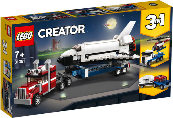 LEGO Creator - Transporter für Space Shuttle (31091)