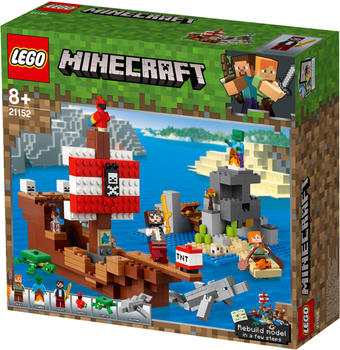 LEGO Minecraft - Das Piratenschiff-Abenteuer (21152)