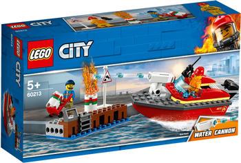 LEGO City - Feuerwehr am Hafen (60213)