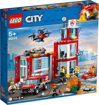 LEGO City - Feuerwehr Station (60215)
