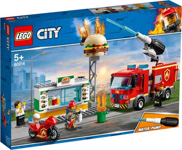 LEGO City - Feuerwehreinsatz im Burger-Restaurant (60214)