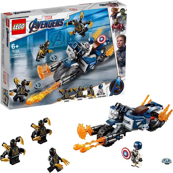LEGO Marvel Super Heroes - Captain America: Outrider-Attacke (76123)