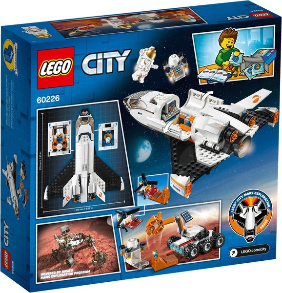 LEGO City - Mars-Forschungsshuttle (60226)