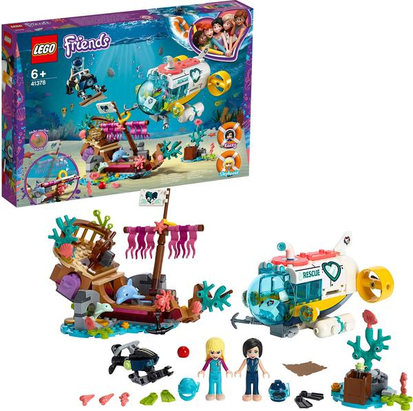 LEGO Friends - Rettungs-U-Boot für Delfine (41378)