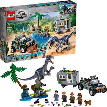 LEGO Jurassic World Baryonyxs Kräftemessen: die Schatzsuche (75935)