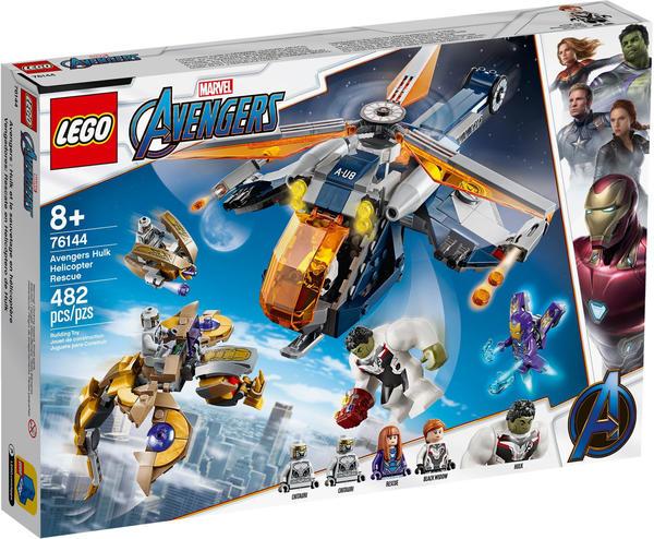 LEGO Marvel Super Heroes - Avengers Hulk Helikopter Rettung (76144)