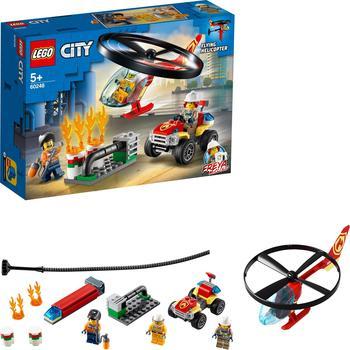 LEGO City - Einsatz mit dem Feuerwehrhubschrauber (60248)