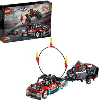 LEGO Technic - Stunt-Show mit Truck und Motorrad (42106)