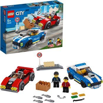 LEGO City - Festnahme auf der Autobahn (60242)