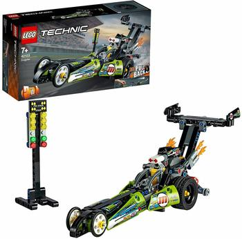 LEGO Technic - 2 in 1 Dragster Rennauto (42103)