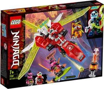 LEGO Ninjago - 2 in 1 Kais Mech Jet (71707)