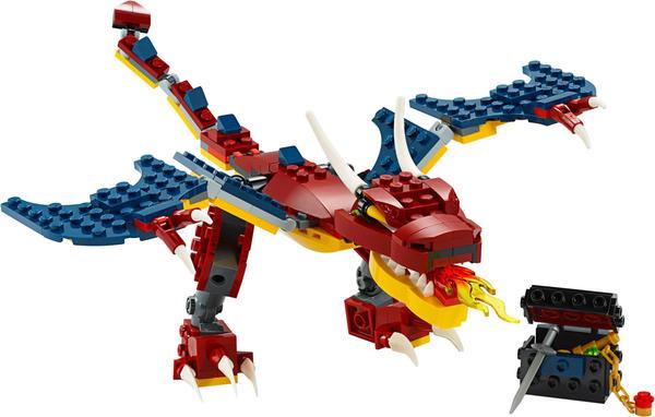 LEGO Creator - 3 in 1 Feuerdrache (31102)