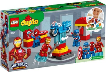 LEGO Duplo - Marvel Super Hero Adventures: Iron Mans Labor-Treffpunkt (10921)