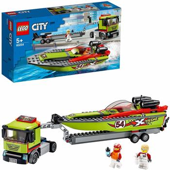 LEGO City - Rennboot-Transporter (60254)