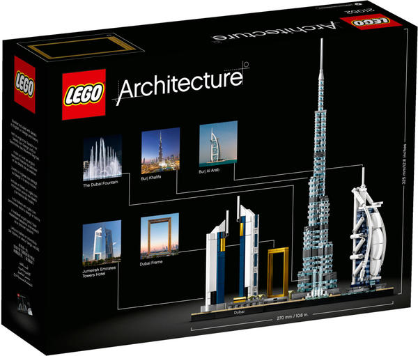 LEGO Architecture - Dubai Skyline (21052)