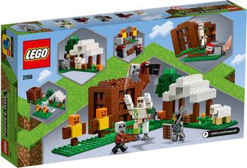 LEGO Minecraft - Der Plünderer-Außenposten (21159)