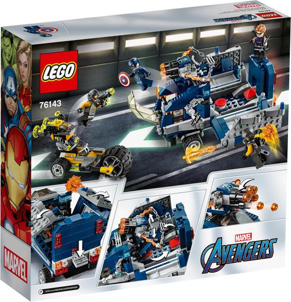 LEGO Marvel Avengers - Truck-Festnahme (76143)