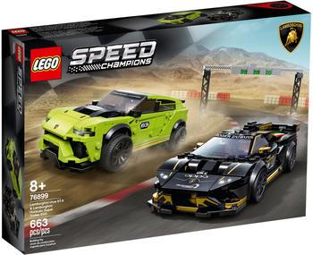LEGO Speed Champions - Lamborghini Urus ST-X & Lamborghini Huracán Super Trofeo EVO (76899)