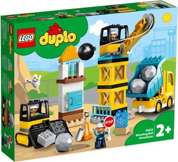 LEGO Duplo - Baustelle mit Abrissbirne (10932)