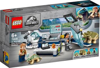 LEGO Jurassic World - Dr. Wus Labor: Ausbruch der Baby-Dinosaurier (75939)