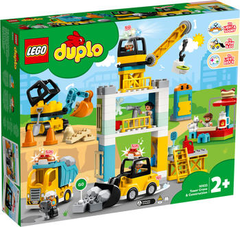 LEGO Duplo - Große Baustelle mit Licht und Ton (10933)