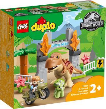LEGO LEGO® DUPLO® 10939 Ausbruch des T. rex und Triceratops