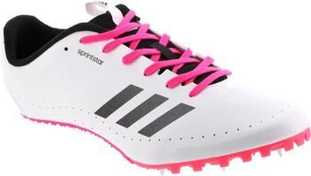 Adidas Sprintstar Women white/core black/shock pink