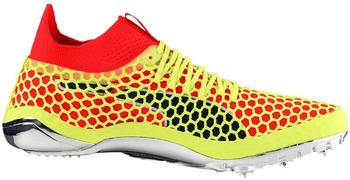 Puma evoSPEED NETFIT Sprint fizzy yellow/red blast/puma black