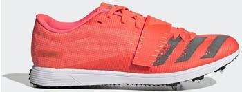 Adidas Adizero Spike-Schuh Signal Pink/Core Black/Copper Metallic/Coral