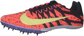 Nike Zoom Rival S 9 bright mango/blackened blue/purple pulse/light citron