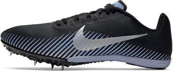 Nike Zoom Rival M 9 black/indigo fog/metallic silver