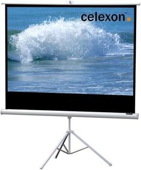 Celexon Stativ Economy 184 x 104 White Edition