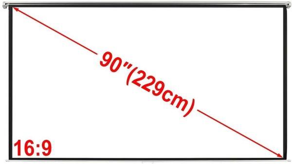 VidaXL Rolloleinwand 200 x 113cm