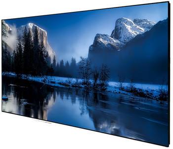 deLuXx Cinema Darkvision Slim Frame 265 x 149 cm