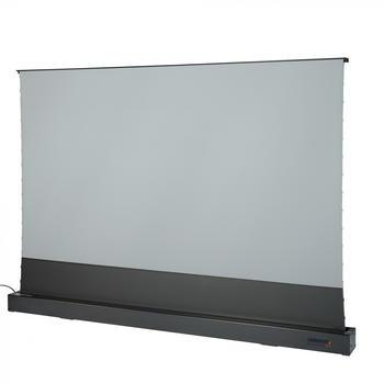 Celexon CLR HomeCinema UST elektrische Boden-Leinwand schwarz 243 x 137 cm