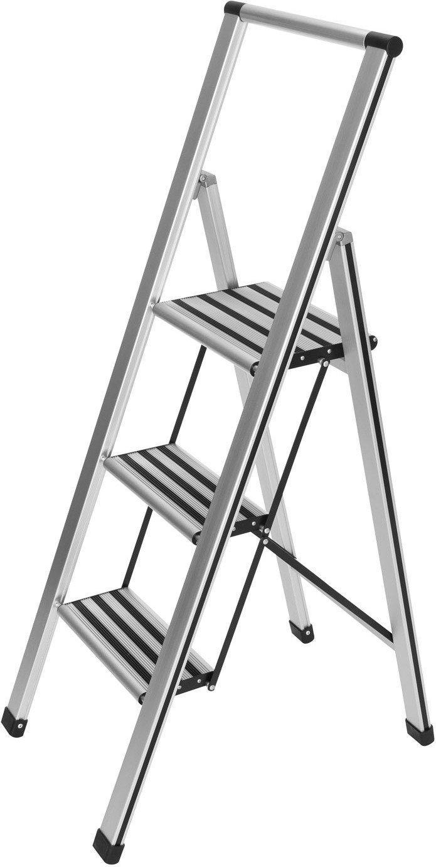 Wenko Alu Design 3 Stufen 6128 Im Test Bei Testbericht De