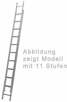 hanselifter-alu-2-teilige-schiebeleiter-mit-2x11-sprossen-und-einer-leiterlaenge-von-3-13m-5-12m