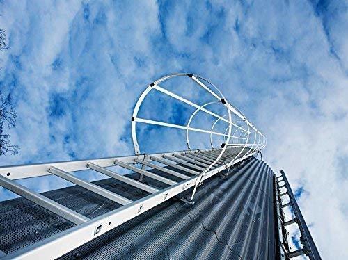 Günzburger Mehrzügige Steigleitern Steighöhe13,16m 530240