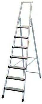 Zarges Z600 geschraubte 5 Stufen-Stehleiter (40133)