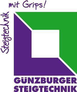 Günzburger Steigtechnik Aluminium-Schiebeleiter 2- teilig 2x18 Sprossen