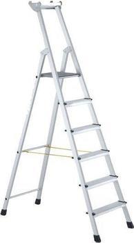 Zarges Z600 genietete 8 Stufen-Stehleiter (41228)