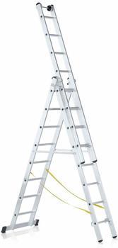 Zarges Z600 Stehleiter mit verlängerbaren Holmen 2 x 6