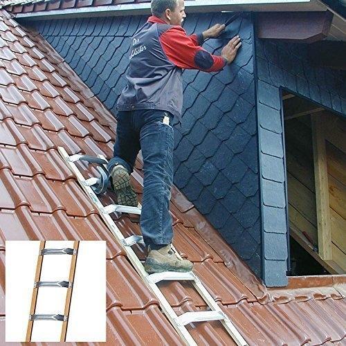 Krause Dachleiter Alu-Holz 3,35 m (804228)